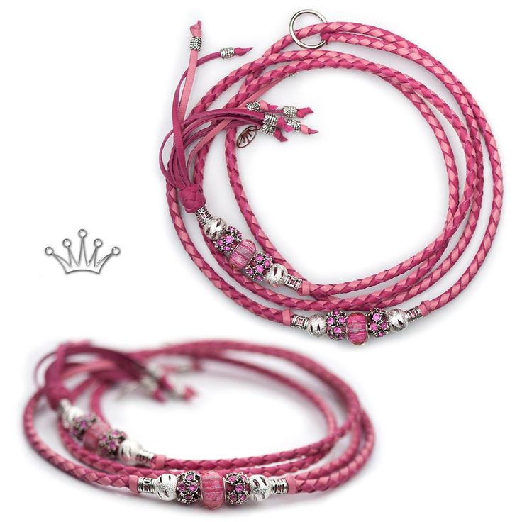 FOR SALE! Kangaroo leather show lead in hot pink & soft pink. Interested? Visit the link for more information! * * * #showlead #showleads #showleash #dogshow #emoticon #emoticonleads #emoticonshowleads #kangarooleather #showdog #customlead #customshowlead #dogshows #utställningskoppel #kangarooleatherlead #dogshowlead