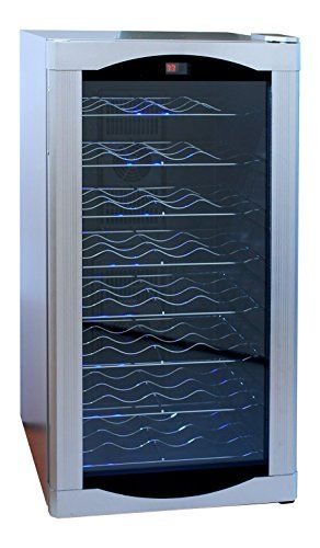 AKDY 32 BTL Electric Wine Cooler Cellar Chiller Single Zone AZEA44EC75 * Check out the image by visiting the link.