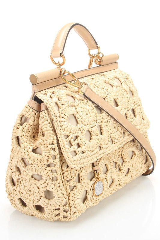 Dolce and Gabbana. Ready for spring purse :)