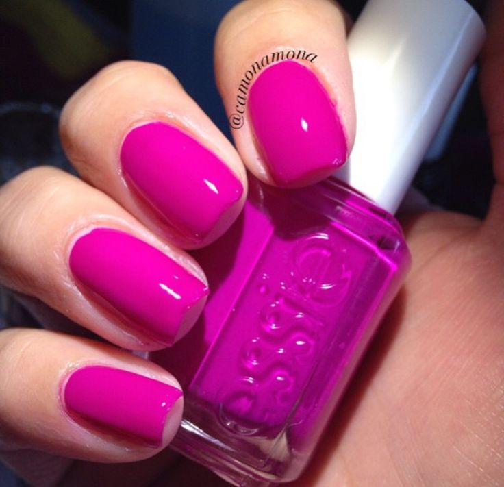 17 Best Ideas About Magenta Nails On Pinterest Marbled