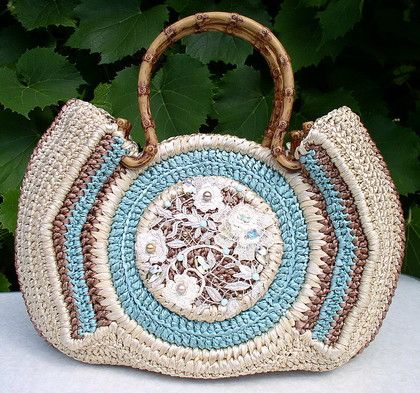 ... Crochet Bags, Bags Inspiration, Beautiful Work, Crochet Purses, Bags