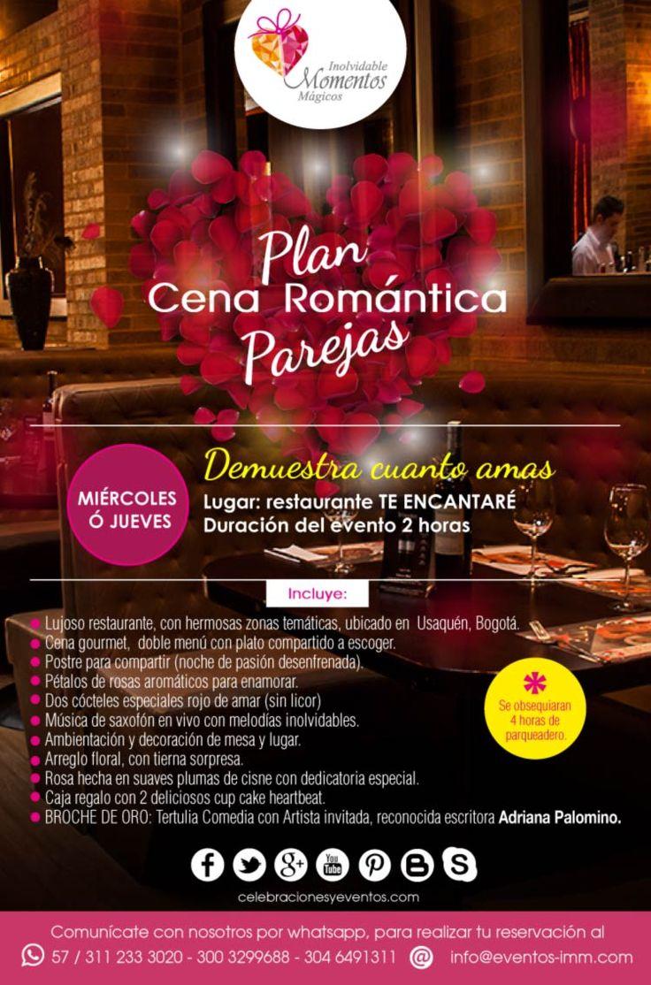 PLAN CENA ROMANTICA: Planes romanticos, para celebrar en este mes de la mujer, este mes de la mujer. #planes #pareja #spa #Bogota #celebraciones #eventos