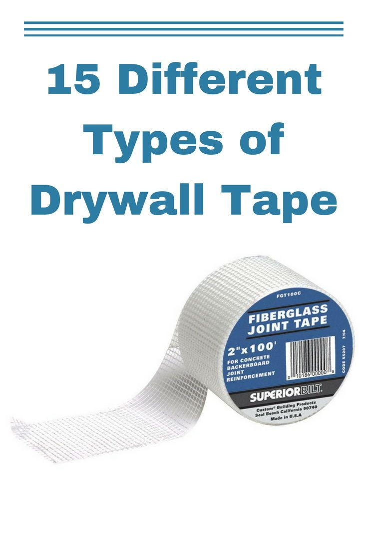 15 Diffe Types Of Drywall Tape 2018 Home Improvement Ideas Pinterest And