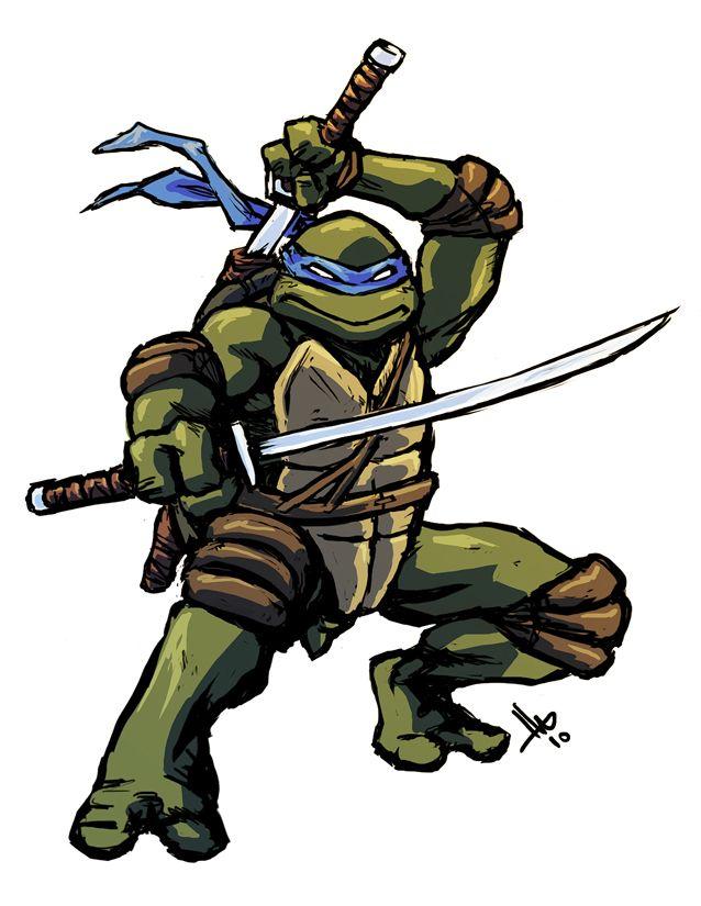 TMNT Leonardo by hugohugo.deviantart.com