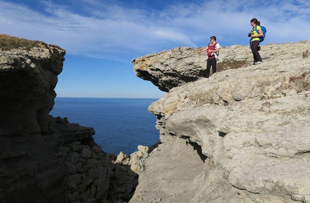 ¡¡¡MONTAÑAS... A ESGALLA!!!: 5 DICIEMBRE 2016... Del Puente del Diablo a Peña Cabarga (Santander, Cantabria)...