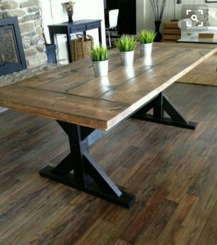 Kitchen Table Door: 17 Best Ideas About Barn Door Tables On Pinterest