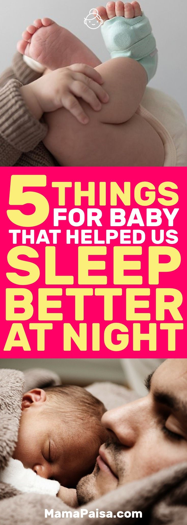 Baby getting sleep is important. You getting sleep is just as important. Here are 5 things that helped me get better sleep with baby.