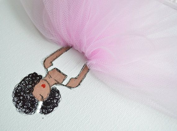 African American Nursery Decor Nursery Ballerina by ShenasiConcept