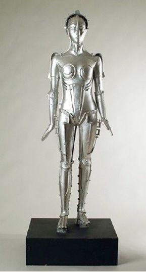 The Metropolis Robot of the Cinémathèque Française - Walter Schulze-Mittendorff