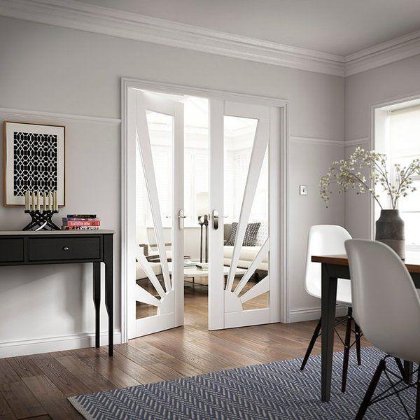 Die besten 25+ White internal doors Ideen auf Pinterest Interne - innenturen aus holz schiebeturen