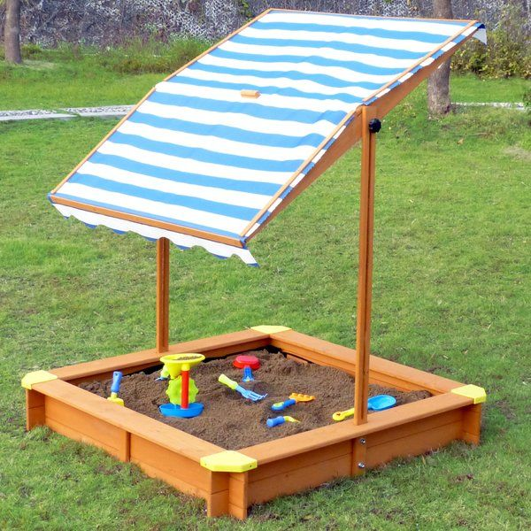4 Square Sandbox With Cover Sandbox With Canopy Sandbox Cover