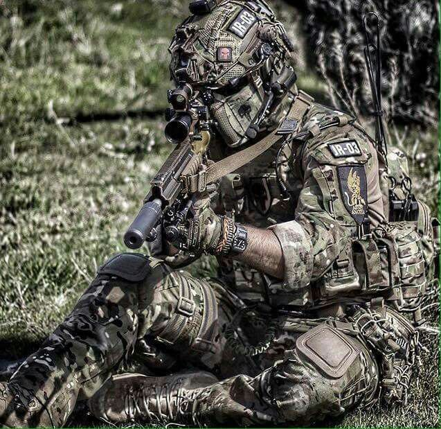 That moment when your camouflage WORKS! (and What is on his face? I want it)