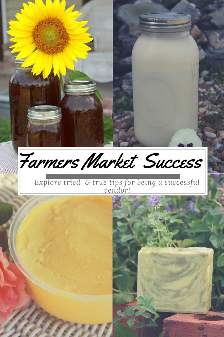 Forget the frustration! Learn from the experts how to be a successful vendor at your local farmers market!  www.muckbootsandmunchkins.com
