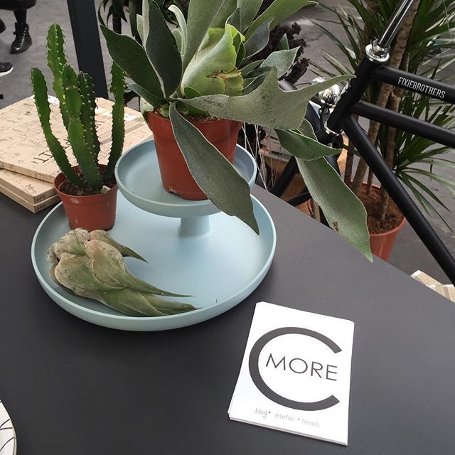 """""""Today I've met some really nice people at the #bloggers #garden at the #explorecreativity #vtwdbeurs ! @vtwonen. Hope you've enjoyed it too;-) ... I loved the #Vitra furniture ! I forgot to say: a special thx to @vosgesparis @aprilandmay @beeldsteil @vivianhoebe & Jantine for inviting me over ! #urbanjunglebloggers"""" Photo taken by @cmoreinteriorconcept on Instagram, pinned via the InstaPin iOS App! http://www.instapinapp.com (09/29/2015)"""