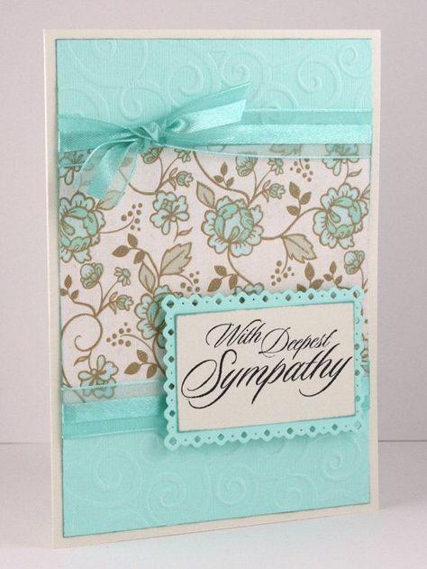 Sympathy Card  Handmade Card  Condolence Card  by CardsbyGayelynn, $5.00