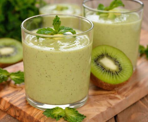 Vihreät juomat: erinomaisia rasvanpolttoon
