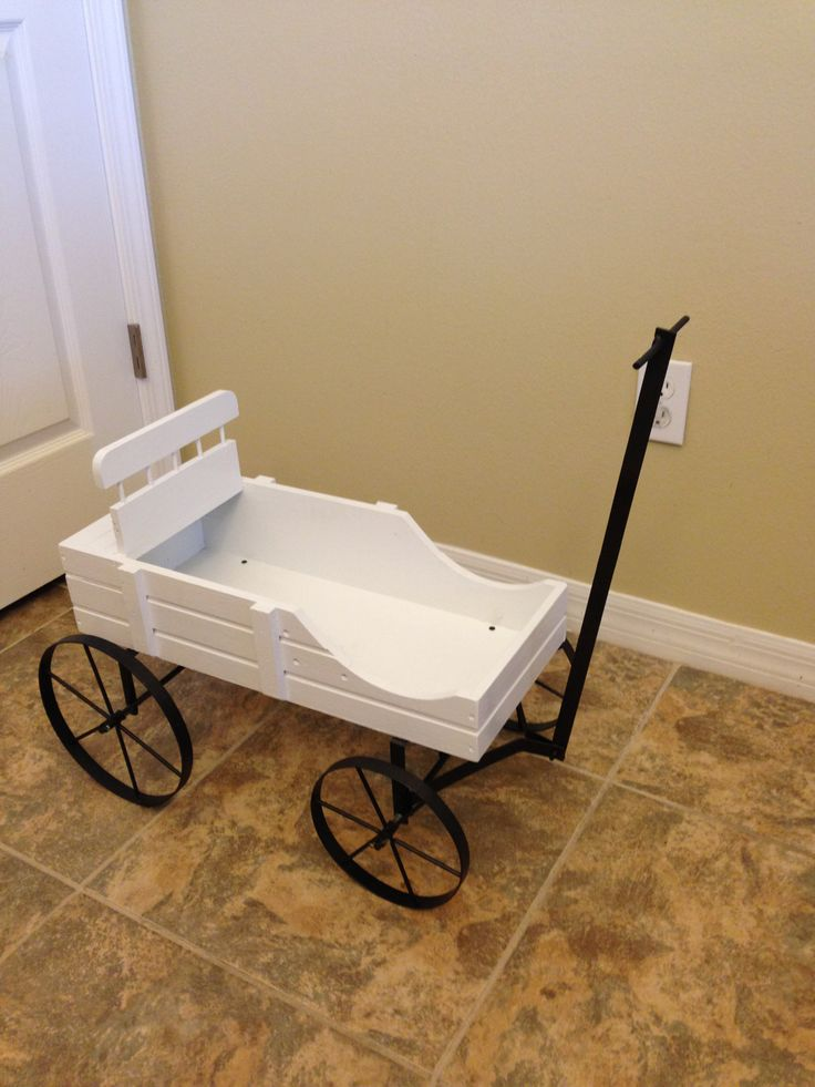 DIY Ring bearer wagon