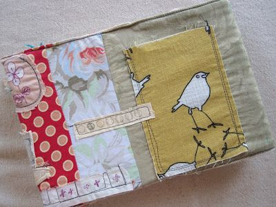 fabric journal cover by My Lovely Life: A Very Kelli Journal