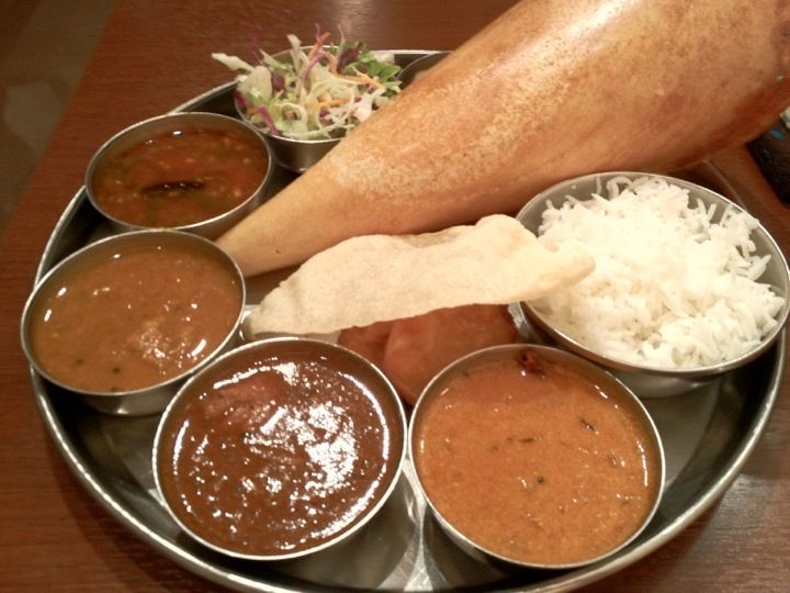 South Indian, veg meals available 南インド料理 ダクシン 八重洲店 in 東京, 東京都