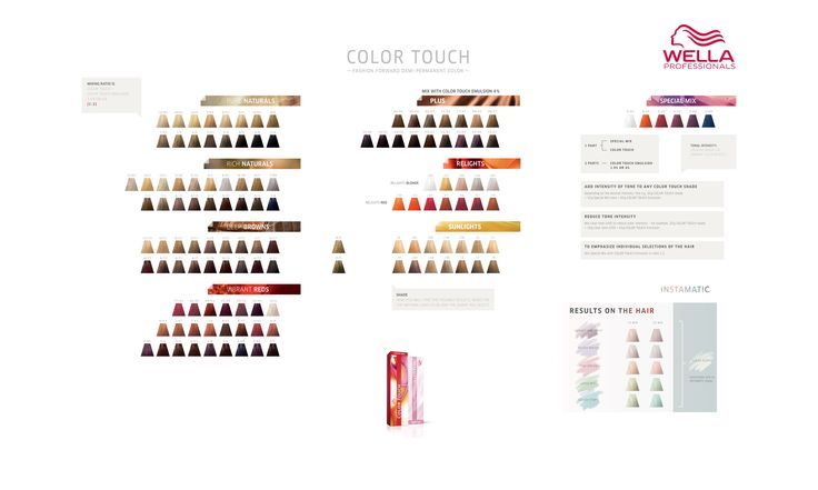 wella professionals color touch color chart wella magic pinterest colors honey and color charts - Coloration Wella Color Touch