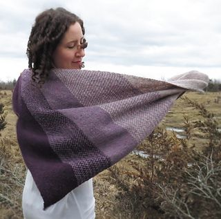 Ravelry: Divination Shawl pattern by Kelly McClure