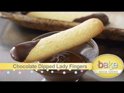 Lady Finger Recipes - Bake with Anna Olson - YouTube
