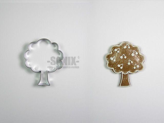 Listnatý strom vykrajovátko