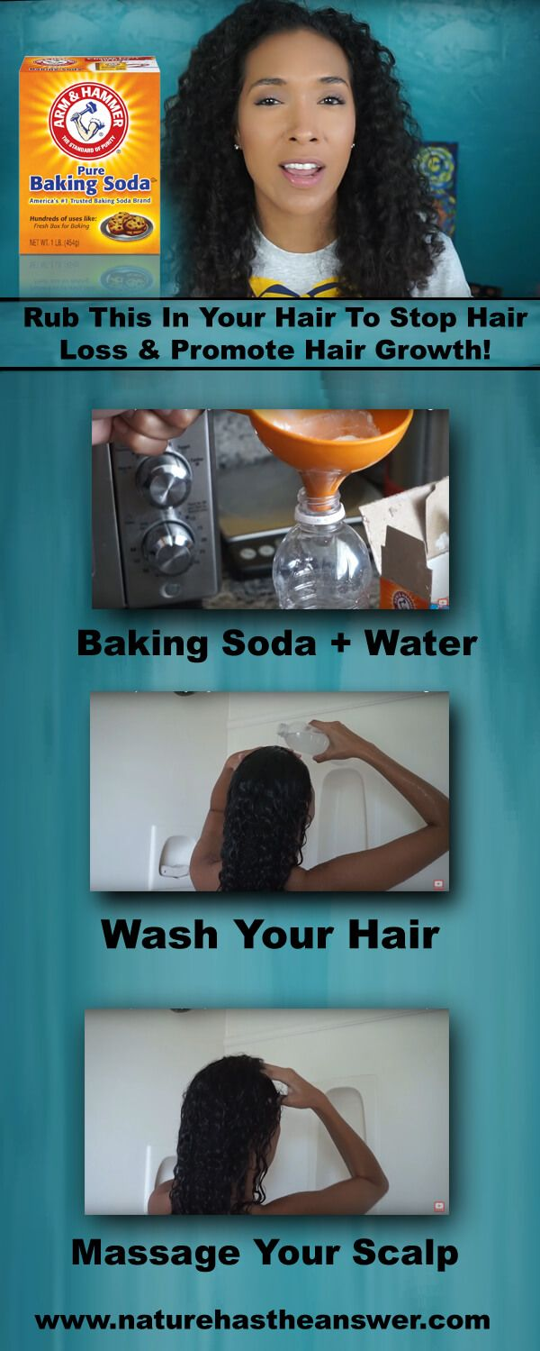 Rub This In Your Hair To Stop Hair Loss & Promote Hair Growth!