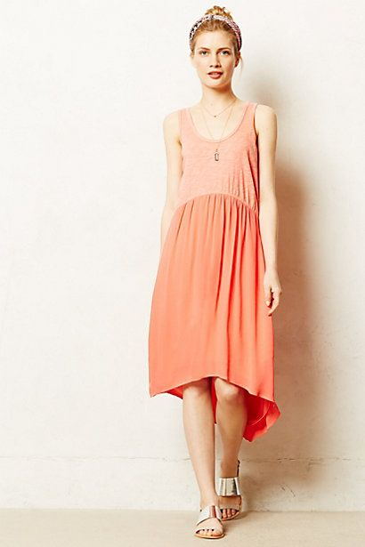 This color. Tulipan Tank Dress #anthropologie #anthrofave