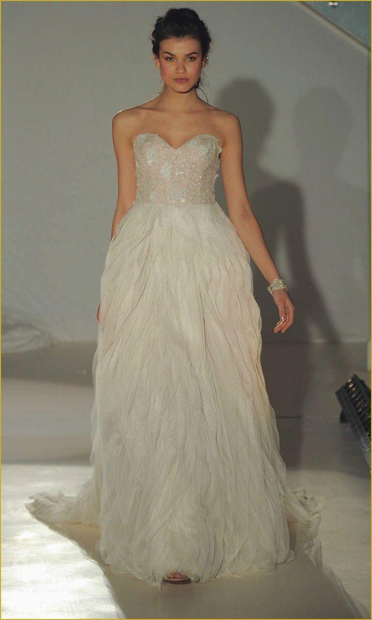 Lazaro blush wedding dress best of wedding gowns by lazaro