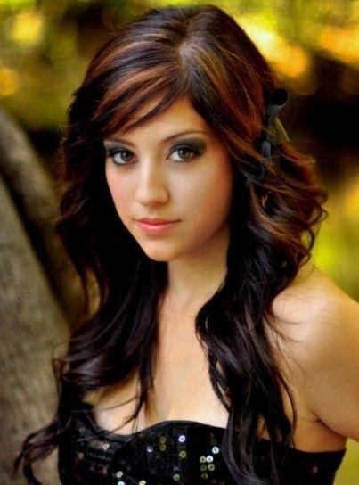 Capelli castani guida a colore colpi di sole e trattamenti Hairadvisor - capelli color cioccolato con riflessi
