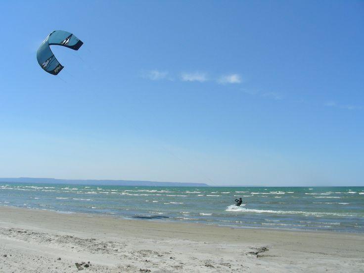 Wasaga Beach in Ontario, Canada