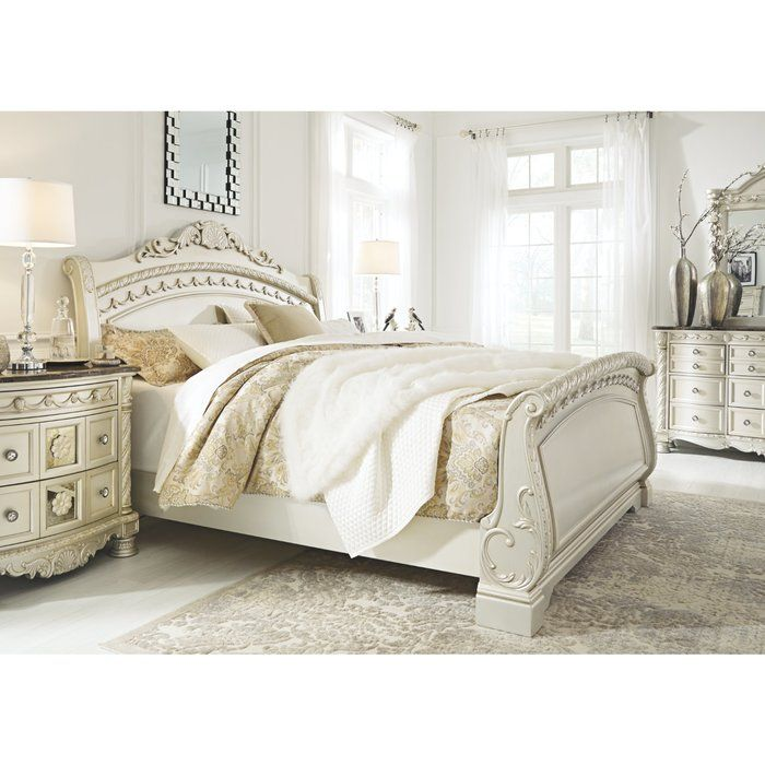 Petry Sleigh Configurable Bedroom Set