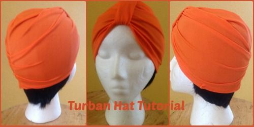 Turban Hat Tutorial!