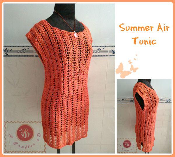 Summer Air Tunic - free crochet pattern                                                                                                                                                                                 More