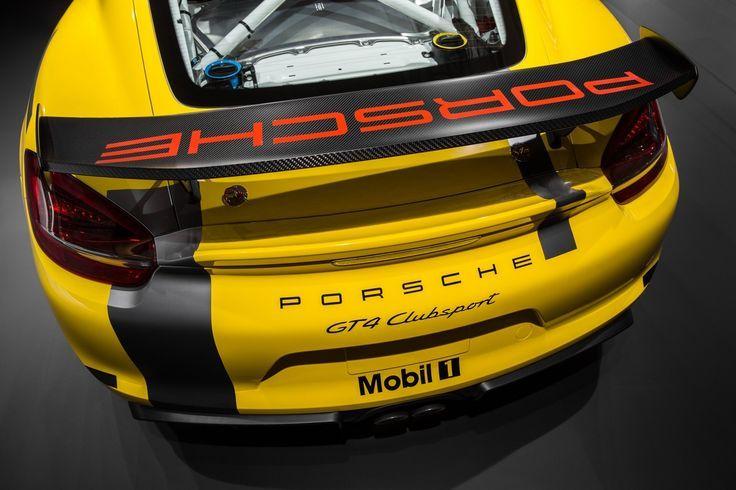 2015 LOS ANGELES AUTO SHOW Porsche  Cayman GT4 Clubsport