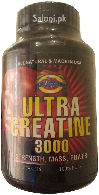 Ultra Creatine 3000 of The Vitamin Company is one of the most effective supplements. It is for anyone looking to improve muscle mass, strength and per