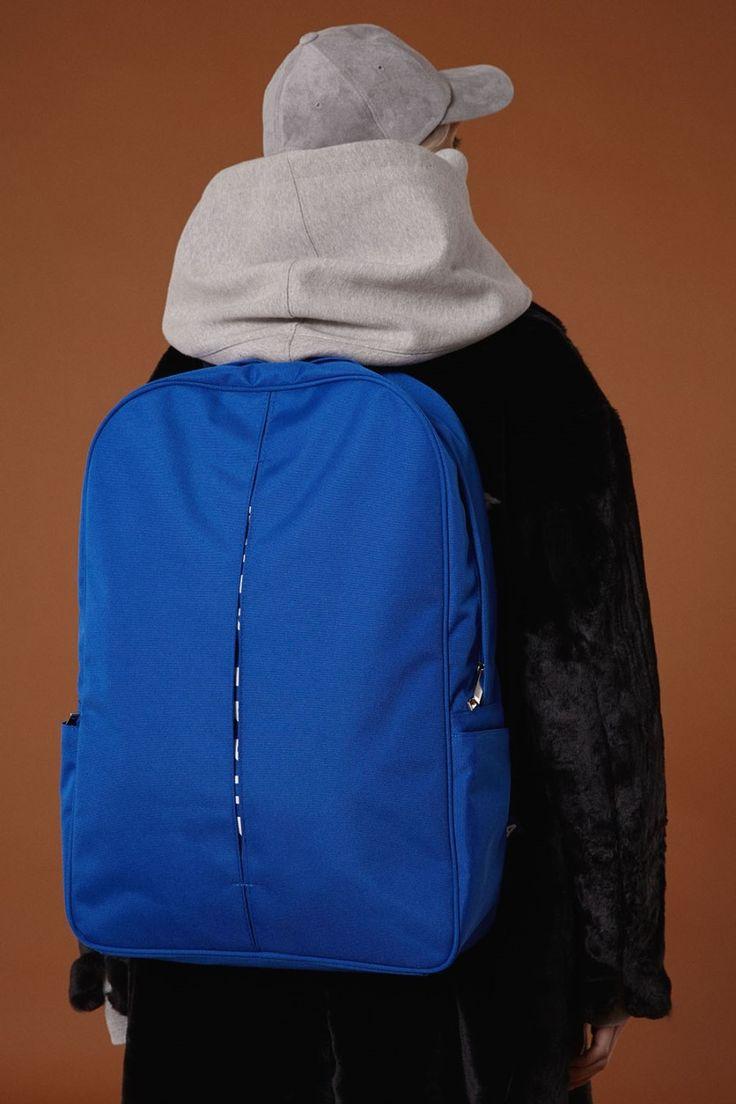 [BLUE] fw15 collection Oversize backpack #ader#adererror#blue