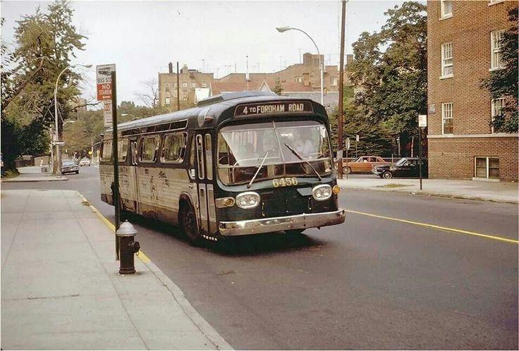 Bainbridge riding the old old street bus the bronx years