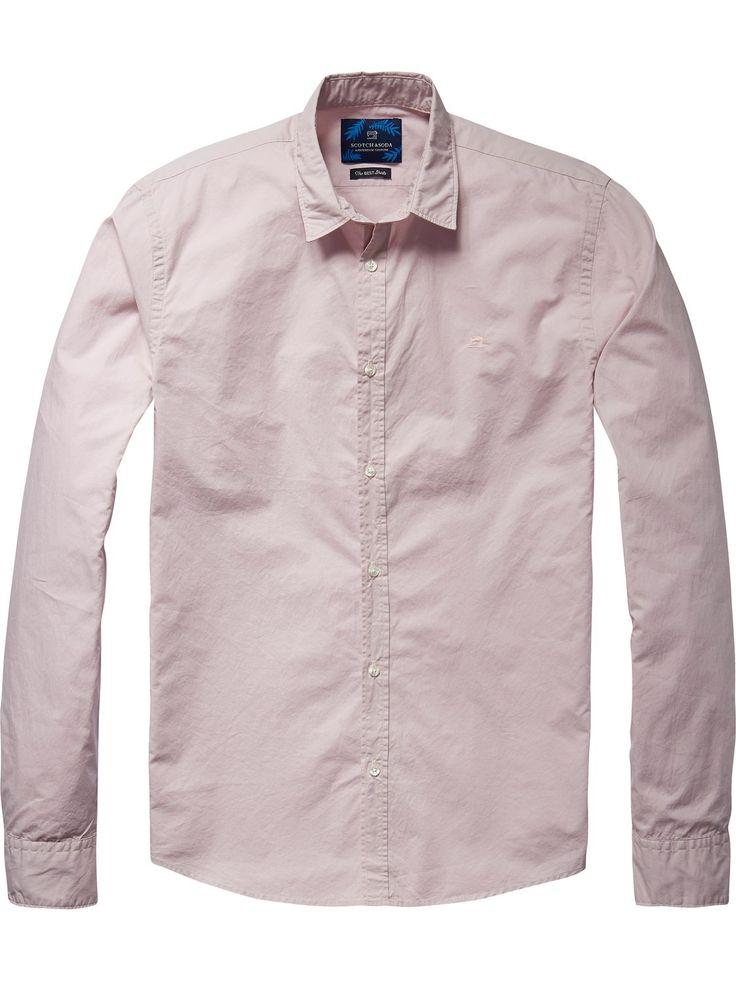 Crisp katoenen overhemd