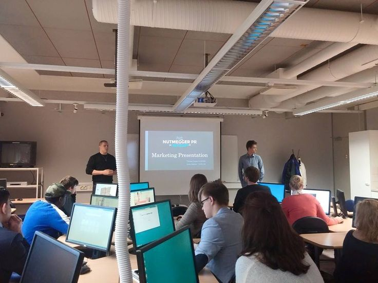 Nutmegger PR was a special guest for a presentation of our business by some degree students at Lapland University of Applied Sciences in Rovaniemi!