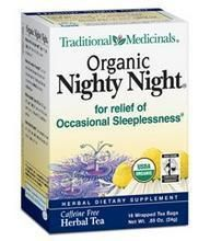 Traditional Medicinals Nighty Night Valerian Tea (6x16 Bag)