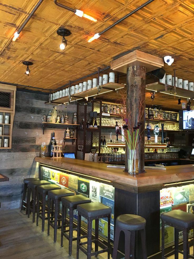 Woodetails - Lions Beerstore - Manhattan .wood walnut