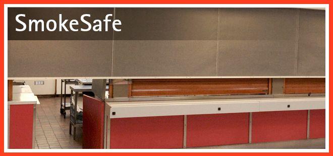 Smokesafe Smoke Curtain   by Smoke and Fire Curtains Ltd