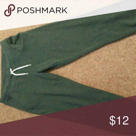 Divided by H&M green joggers M Green joggers. Divided brand by H&M. Size Medium. Worn twice, very comfy. H&M Pants Track Pants & Joggers