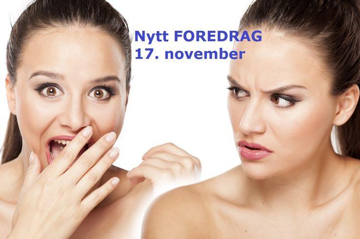 """Foredrag """"Irriterer eller inspirerer du?"""" 17. november  kl 18.00 Bryne Kro & Hotell påmelding birgitstrand1@gmail.com"""