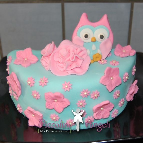 gateau fete 1 an fille hibou recherche google projets essayer pinterest recherche. Black Bedroom Furniture Sets. Home Design Ideas