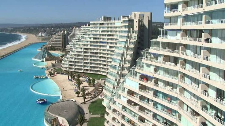 SAN ALFONSO DEL MAR - Chile - maior piscina do mundo