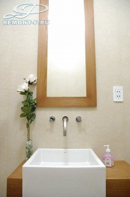Ванная в современном стиле. Фото интерьера