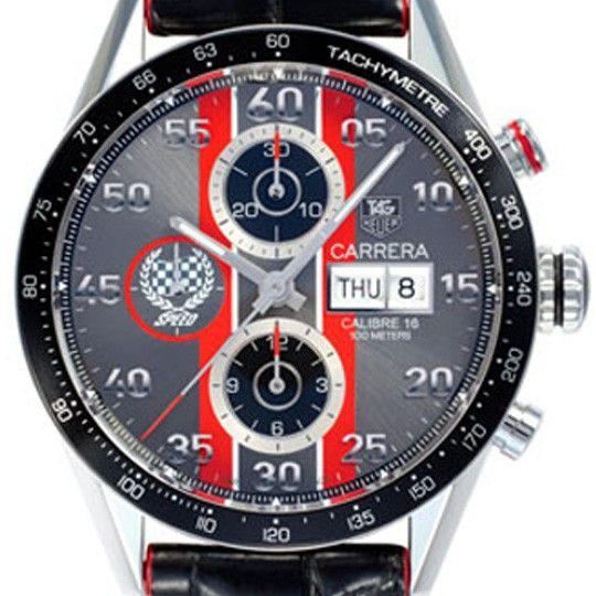 Tag Heuer Men's Carrera Day Date Goodwood Festival Watch CV2A1J.FC6301 from Steffans Jewellers